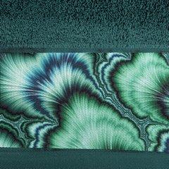 Turkusowy ręcznik kąpielowy - mój wybór Eva Minge 50x90 cm - 50 X 90 cm - turkusowy 6