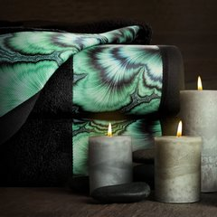 Turkusowy ręcznik kąpielowy - mój wybór Eva Minge 50x90 cm - 50 X 90 cm - turkusowy 8