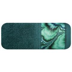 Turkusowy ręcznik kąpielowy - mój wybór Eva Minge 50x90 cm - 50 X 90 cm - turkusowy 2