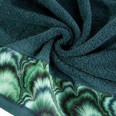 Turkusowy ręcznik kąpielowy - mój wybór Eva Minge 70x140 cm - 70 X 140 cm - turkusowy 5