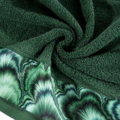 Zielony ręcznik kąpielowy - mój wybór Eva Minge 50x90 cm - 50 X 90 cm - butelkowy zielony 4