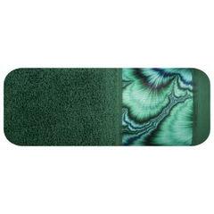 Zielony ręcznik kąpielowy - mój wybór Eva Minge 70x140 cm - 70 X 140 cm - butelkowy zielony 1