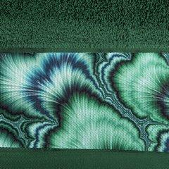 Zielony ręcznik kąpielowy - mój wybór Eva Minge 70x140 cm - 70 X 140 cm - butelkowy zielony 7