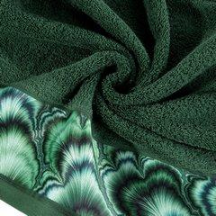 Zielony ręcznik kąpielowy - mój wybór Eva Minge 70x140 cm - 70 X 140 cm - butelkowy zielony 9