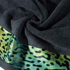 Ręcznik kąpielowy - mój wybór Eva Minge - grafit i zwierzęcy wzór 50x90 cm - 50 X 90 cm - stalowy 9
