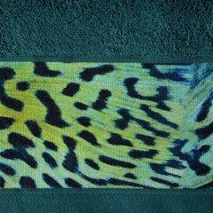 Ręcznik kąpielowy - mój wybór Eva Minge - turkus i zwierzęcy wzór 50x90 cm - 50 X 90 cm - turkusowy 3