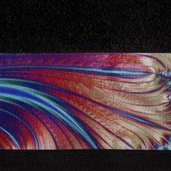 Czarny ręcznik kąpielowy - mój wybór Eva Minge - 50x90 cm - 50 X 90 cm - czarny 4