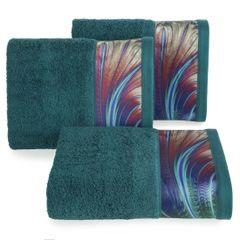 Turkusowy ręcznik kąpielowy - mój wybór Eva Minge - 50x90 cm - 50 X 90 cm - turkusowy 1
