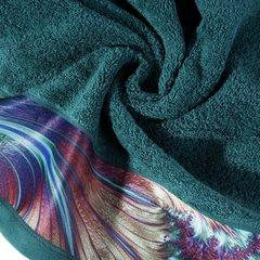 Turkusowy ręcznik kąpielowy - mój wybór Eva Minge - 50x90 cm - 50 X 90 cm - turkusowy 7