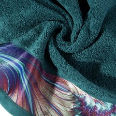 Turkusowy ręcznik kąpielowy - mój wybór Eva Minge - 50x90 cm - 50 X 90 cm - turkusowy 5