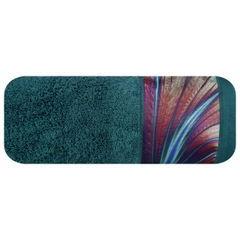 Turkusowy ręcznik kąpielowy - mój wybór Eva Minge - 50x90 cm - 50 X 90 cm - turkusowy 2