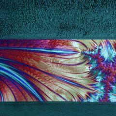 Turkusowy ręcznik kąpielowy - mój wybór Eva Minge - 50x90 cm - 50 X 90 cm - turkusowy 4
