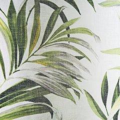 Zasłona w liście palmowe nancy na przelotkach 140x250 - 140 X 250 cm - zielony 4