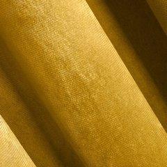ROSA MUSZTARDOWA MATOWA ZASŁONA Z WELWETU GŁADKA NA TAŚMIE 140x270cm DESIGN91 - 140 X 270 cm - musztardowy 2