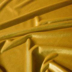 Musztardowa zasłona Rosa velvet na taśmie 135x270 cm Design91 - 135 X 270 cm - musztardowy 5