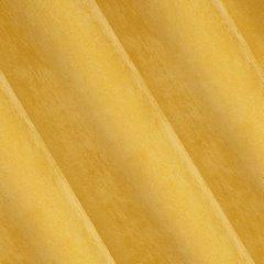 Musztardowa zasłona o strukturze sztruksu Julie na przelotkach 140x250 cm - 140 X 250 cm - musztardowy 3