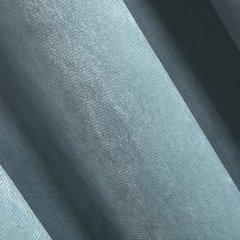 ROSA MORSKA MATOWA ZASŁONA Z WELWETU GŁADKA NA TAŚMIE 140x300cm DESIGN91 - 140 X 300 cm - morski 2