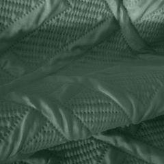 ALARA 2 CIEMNA ZIELONA NARZUTA NA ŁÓŻKO jednokolorowa wytłaczana Design91 200x220 cm - 200 X 220 - ciemnozielony 5