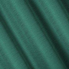 STYLE ZIELONA ZASŁONA O SPLOCIE LNIANYM NA PRZELOTKACH 140x250cm - 140 X 250 cm - zielony 3