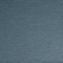 STYLE DŻINSOWA ZASŁONA O SPLOCIE LNIANYM W STYLU EKO NA PRZELOTKACH 140x250cm - 140 X 250 cm - niebieski 3