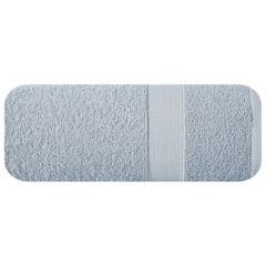 Miękki chłonny ręcznik kąpielowy srebrny 70x140 - 70 X 140 cm - srebrny 2