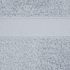 Miękki chłonny ręcznik kąpielowy srebrny 70x140 - 70 X 140 cm - srebrny 4