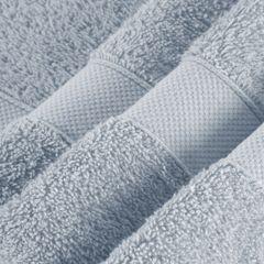 Miękki chłonny ręcznik kąpielowy srebrny 70x140 - 70 X 140 cm - srebrny 5