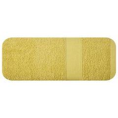 Miekki chłonny ręcznik kąpielowy musztardowy 50x90 - 50 X 90 cm - musztardowy 2