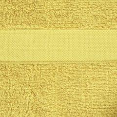 Miekki chłonny ręcznik kąpielowy musztardowy 50x90 - 50 X 90 cm - musztardowy 4