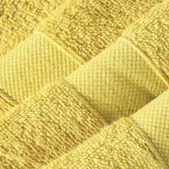 Miekki chłonny ręcznik kąpielowy musztardowy 50x90 - 50 X 90 cm - musztardowy 5