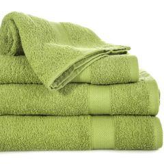 Miękki chłonny ręcznik kąpielowy oliwkowy 70x140 - 70 X 140 cm - oliwkowy 1